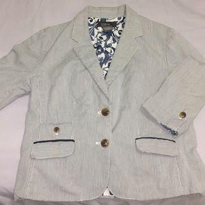 George Stripped blazer